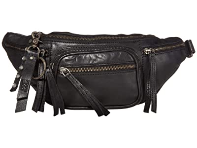 FRYE AND CO. Riley Belt Bag (Black) Cross Body Handbags