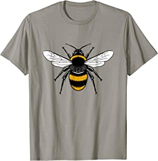 Manchester Bee T-Shirt Worker Bee Symbol Made In MCR