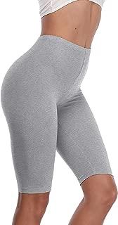 VESHINE Women's Slip Shorts 3-Pack High Waist Bike Shorts Boyshorts for Yoga/Workouts Anti Chafing Cotton Undershorts