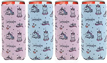 White Can Cooler Beverage Insulator for 12 or 16 Cans Shuh Duh Fuh Cup Little Elk Designs