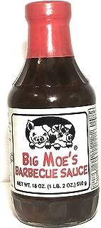 Big Moe's Barbecue Sauce, 18 oz -510 g