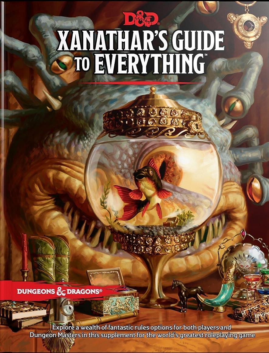 何か認可医療過誤Xanathar's Guide to Everything (Dungeons & Dragons)