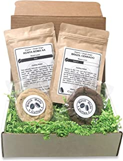 Match Made Coffee - Craft Coffee & Gourmet Cookie Subscription Box – 2 New Organic Ground Coffees and 2 Flavor-Paired Cookies – Makes a Great Gift