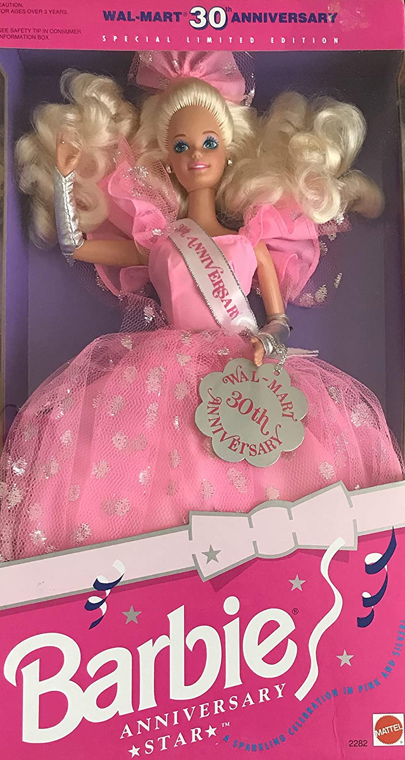 Barbie Anniversary Star Doll WalMart 30th Anniversary Special Limited Edition (1992)