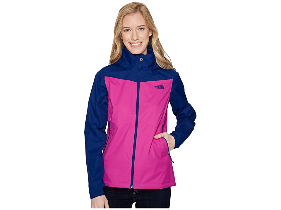 The North Face Resolve Plus Jacket (Violet Pink/Sodalite Blue) Women