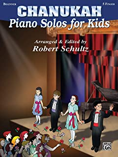 Chanukah Piano Solos for Kids: Five Finger