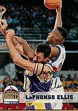 1993-94 Hoops #53 LaPhonso Ellis AUTONuggets