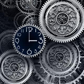 Antique Black clock live wallpaper