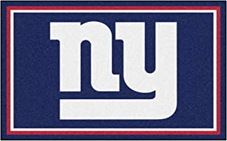 FANMATS NFL New York Giants Nylon Face 4X6 Plush Rug