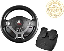 Subsonic Superdrive - Driving Wheel with pedals and gearshift paddles for nintendo Switch - PS4 - Xbox One - PC