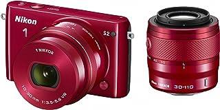 Nikon ミラーレス一眼 Nikon1 S2 ダブルズームキット レッドS2WZRD