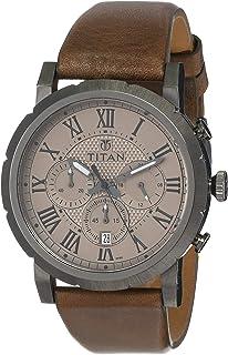 Titan Spring Summer'15 Analog Grey Dial Men's Watch-NL90050QL02 / NL90050QL02