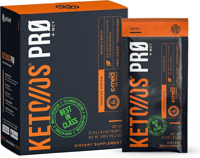 Pruvit Keto Os Pro Orange Dream - Ketones Mct quality assurance Dietary Supplement Max 48% OFF