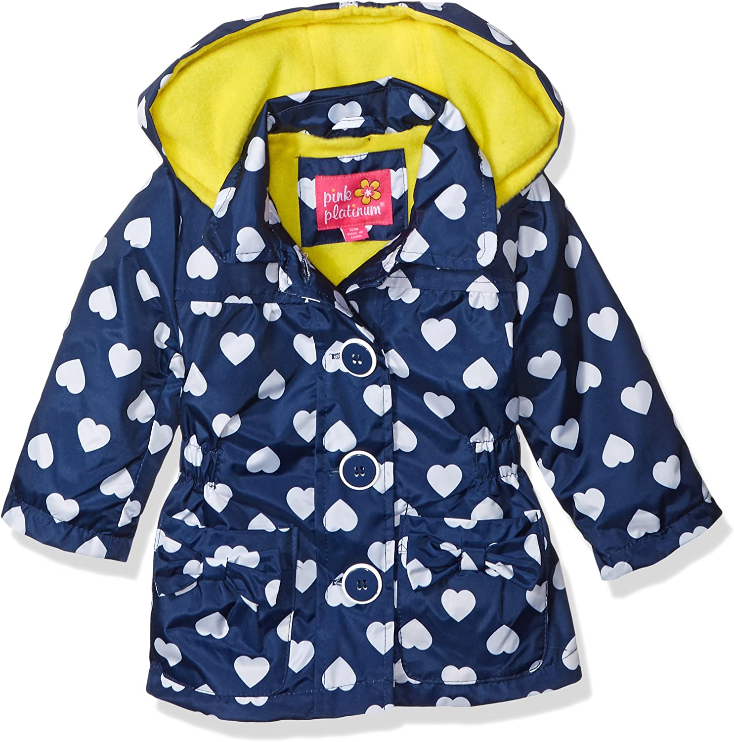 Pink Platinum Baby Girls Polar Fleece Anorak