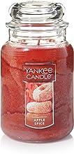 شمع شموع ممتاز معطّر من يانكي كاندل أبل سبايس مع وقت احتراق يصل إلى 150 ساعة، وعاء كبير