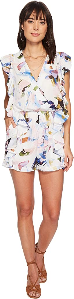 Bishop + Young - Elle Print Ruffle Romper
