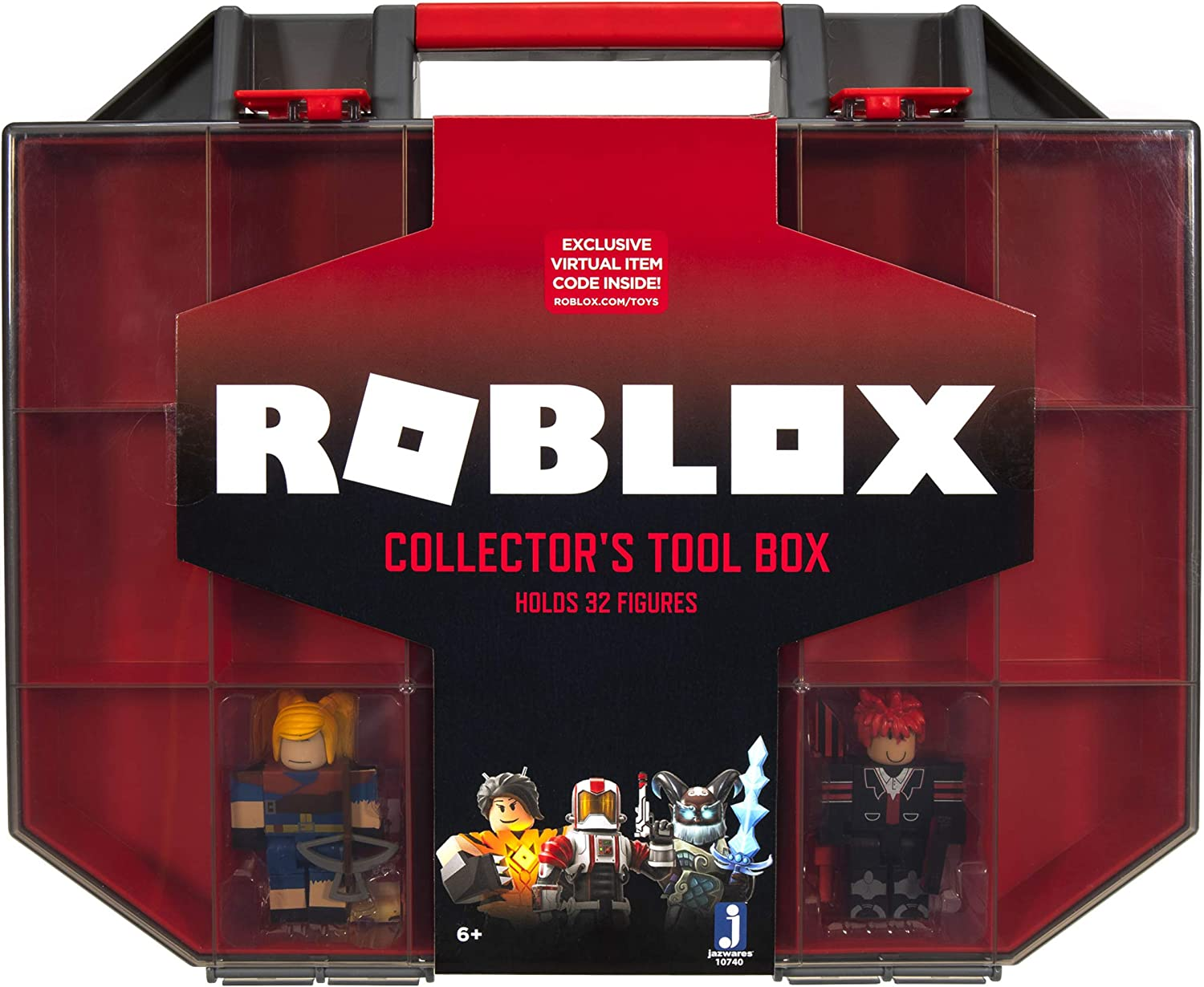 Roblox Action Collection - Collector's Tool Box and Carry Case Basic Pack