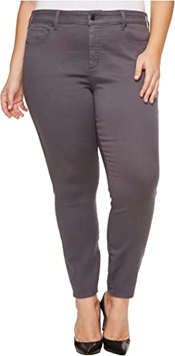 NYDJ Plus Size - Plus Size Ami Skinny Legging Jeans in Super Sculpting Denim in Vintage Pewter