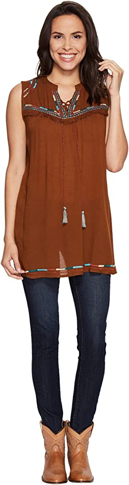 Gala Tie Front Tunic