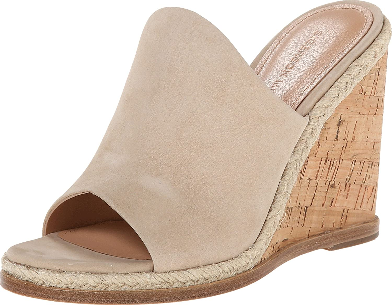Sigerson Morrison Women's Vala Light Taupe Suede 8.5 M