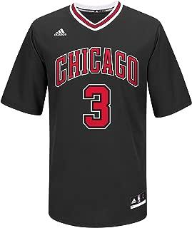 adidas Dwyane Wade Chicago Bulls NBA Men's Black Official Pride Replica Jersey