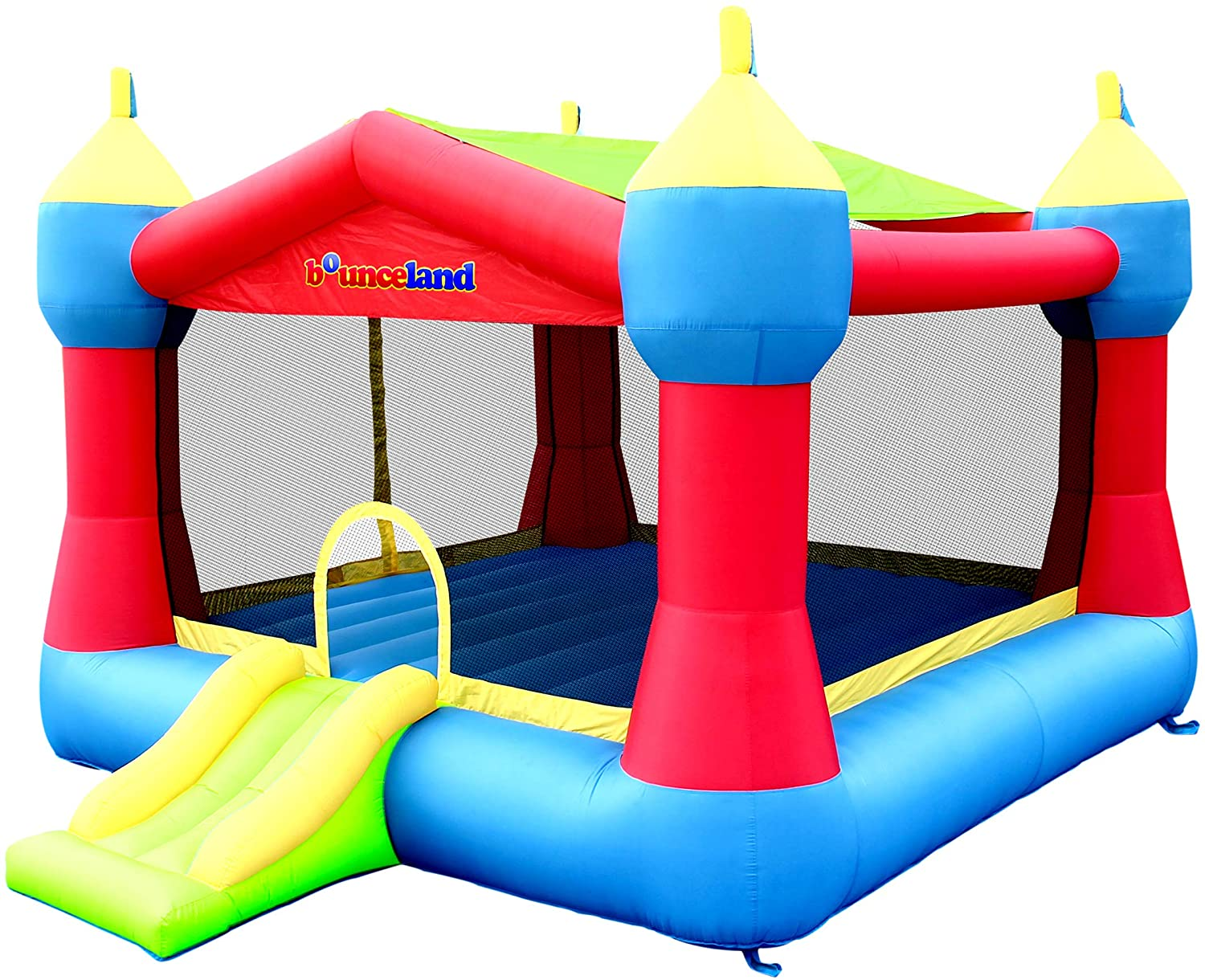 Bounceland Inflatable Ranking TOP19 Party Castle 2021new shipping free Bounce ft L Bouncer 16 House