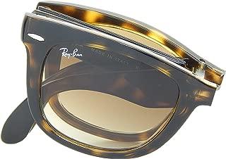 Ray Ban Folding Wayfarer RB4105 710 Tortoise/Crystal Brown 50mm Sunglasses