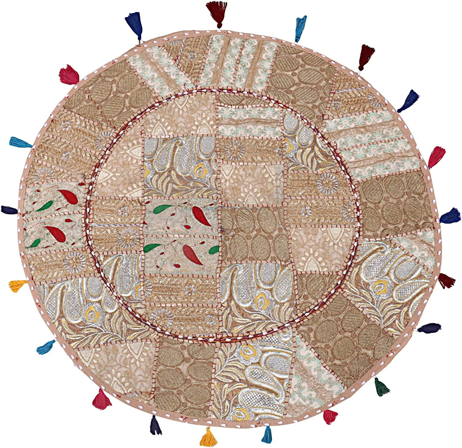 The Art Box In a All items free shipping popularity Beige Round F Large Floor Meditation Cushion