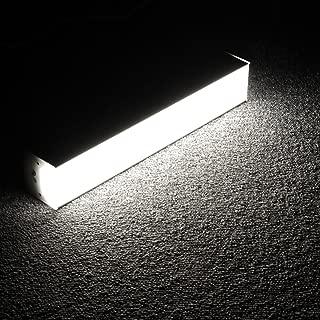 Lagute 1FT Tube 10W Daylight 5000K LEDGo Linkable LED System | Create Your Own DIY Custom Light Fixtures | Perfect for Office, Basement, Photo Studio, Closet, Cool White