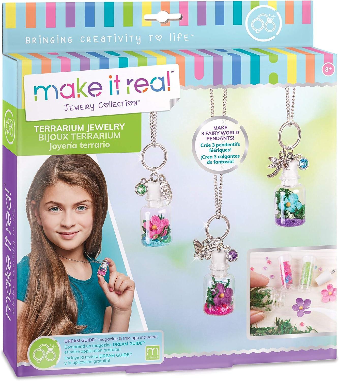 Make It Real – DIY Bottle Pend Jewelry. Terrarium 4 NEW before selling ☆ years warranty