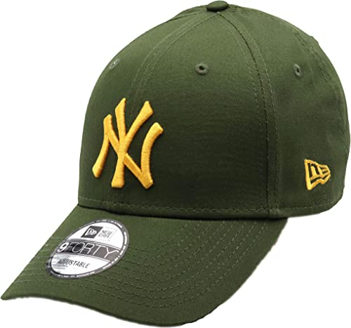 New Era Casquette 9FORTY League Essential New York Yankees Olive-Noir