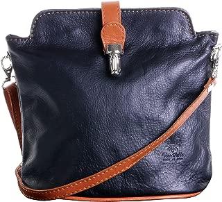 Italian Leather Hand Made Adjustable Strap Cross Body or Shoulder Bag Handbag