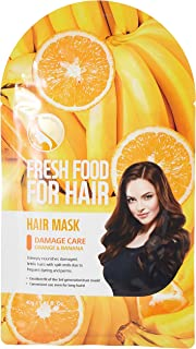 FARMSKIN Freshfood Hair Mask, Orange & Banana, 40 gm