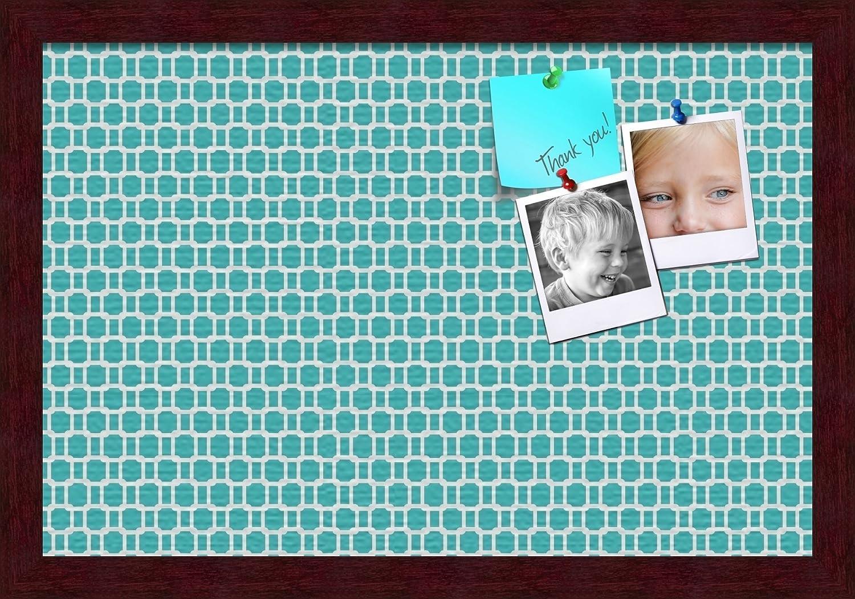 PinPix pin Cork Dedication Bulletin Board Made Retro Canvas from Patterns Max 65% OFF