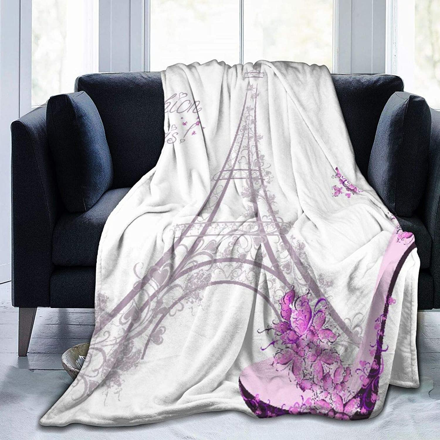 Janrely Direct stock discount Ultra-Soft Micro Fleece Blanket Denver Mall Shoes The On High-Heeled