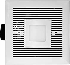 """Duct or Ductless Options 860 CFM Easy Clean Baffle Filters 3 Speed Wall LED Chef Series 30/"""" WM-590 Hauslane Black Stainless Steel Fingerprint and Smudge Resistant Mount Kitchen Fan"""