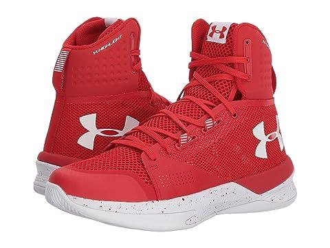 Under Armour UA Highlight Ace Red/White/White Hyper Online Sale Popular Marketable D92pEfUX