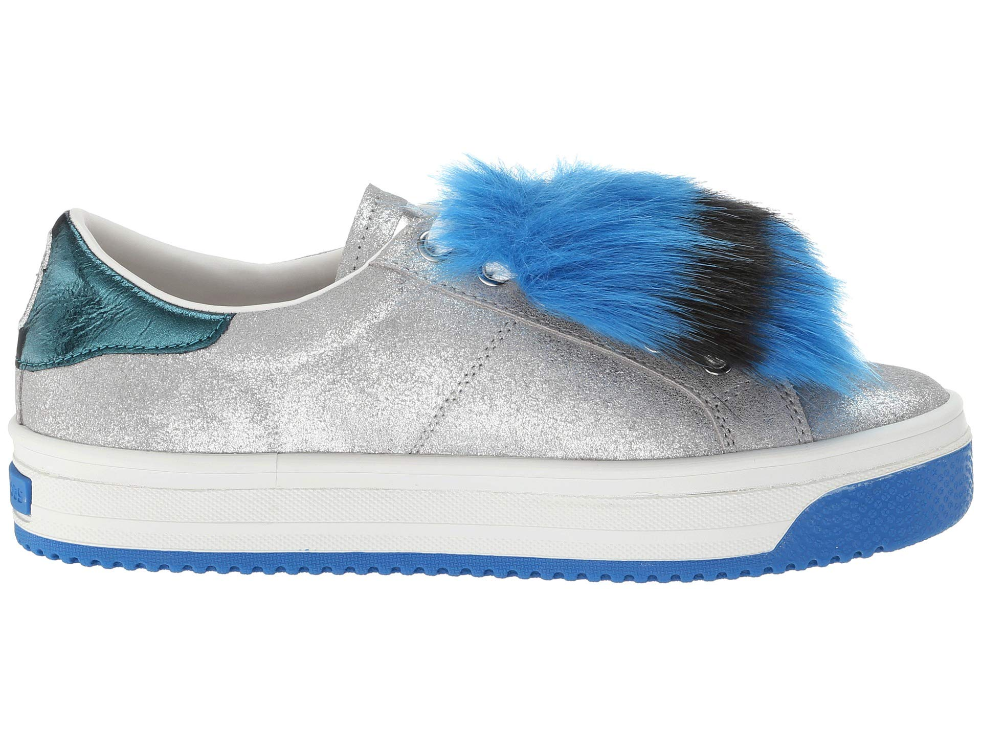 Silver Empire Sneaker Jacobs Marc With Faux Sole Fur Multicolor Multi SAwgw8fq