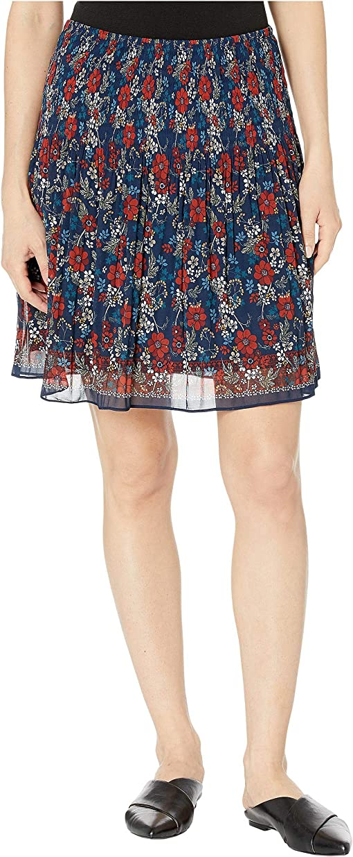 Navy/Terry Airy Floral