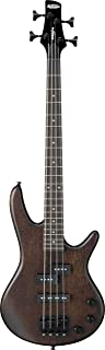 Ibanez 4 String Bass Guitar, Right, Walnut Flat (GSRM20BWNF)