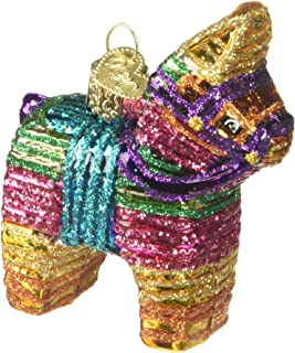 Old World Christmas Ornaments: Pinata Glass Blown Ornaments for Christmas Tree
