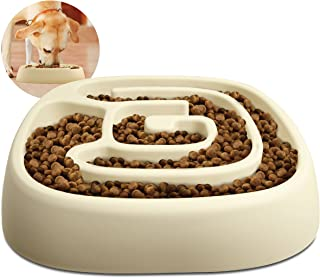 Animal Planet Dog Bowl - Slow Maze Feeder Pet Dog Bowl for Small & Medium Dogs, Aids in Digestive Health and Weight Control, Fits 2 Cups of kibble for Calorie Control