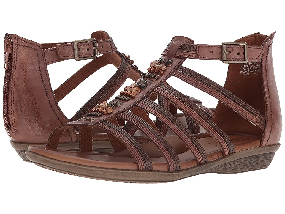 Rockport Cobb Hill Collection Jamestown Gladiator (Almond Multi Leather) Women