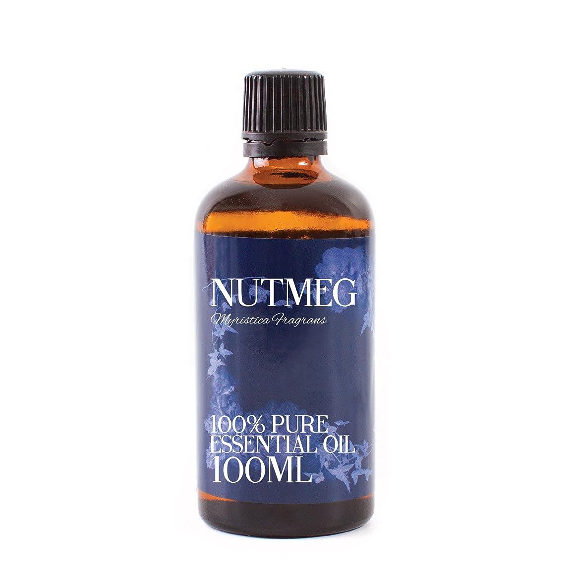 適格伝染性のマーチャンダイザーMystic Moments | Nutmeg Essential Oil - 100ml - 100% Pure