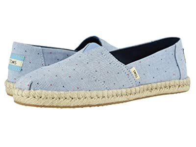 TOMS Alpargata (Blue) Women