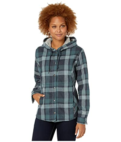 Wolverine Cheyenne Shirt Jacket (Dark Navy Plaid) Women