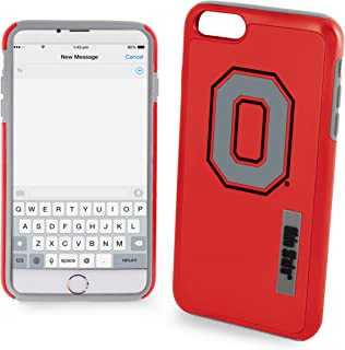 Ohio State Buckeyes Impact TPU 2-Piece Dual Hybrid iPhone 8 PLUS / iPhone 7 PLUS / iPhone 6 PLUS / 6s PLUS - 5.5