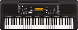 Yamaha Portable Keyboard PSR-E363, Black