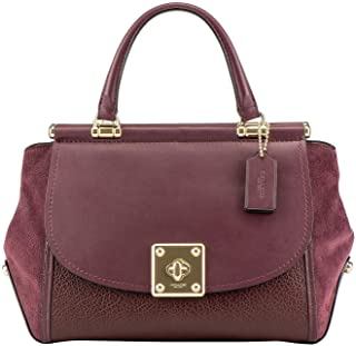 Womens Mixed Leather Drifter Carryall