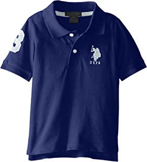 U.S. Polo Assn. Boys' Short Sleeve Solid Pique Polo